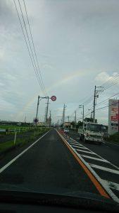 7月17日 虹