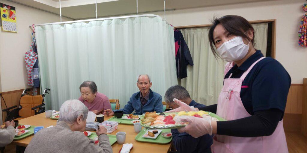 1月22日 寿司バイキング