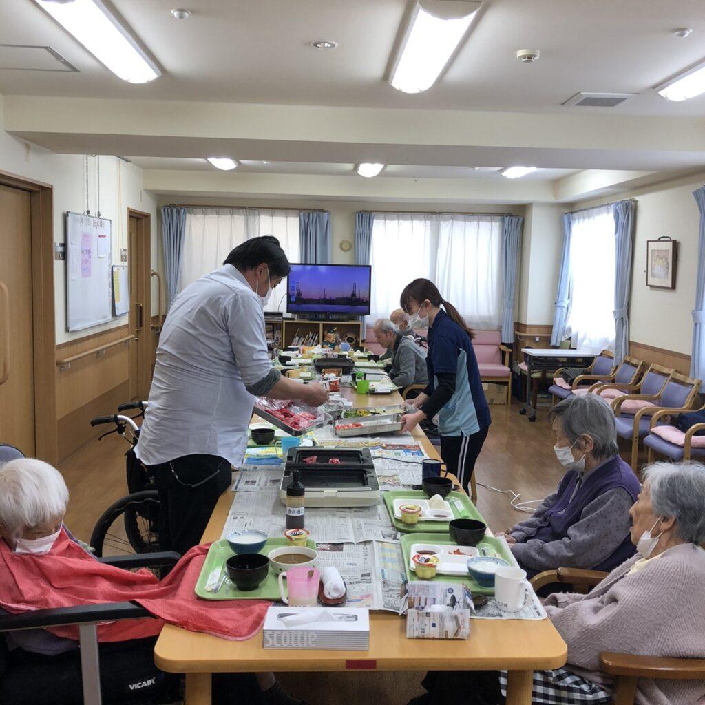 2月19日 焼肉パーティー