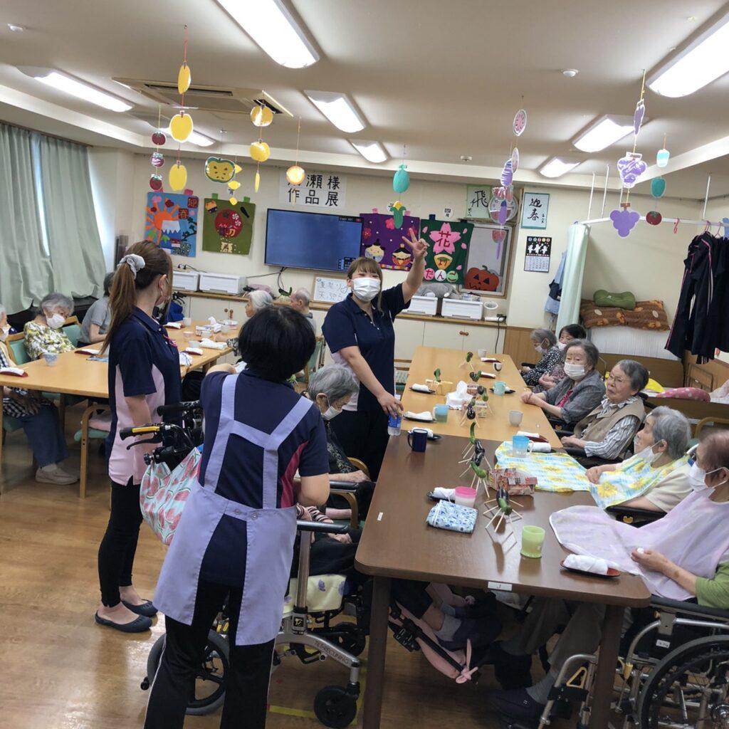 8月12日 天ぷらパーティー
